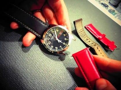 changement de bracelet sur montres sur montre