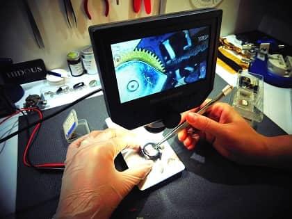 atelier réparation de montre dans une bijouterie à montréal