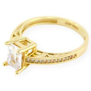 bague de fiançailles carla en or jaune en or