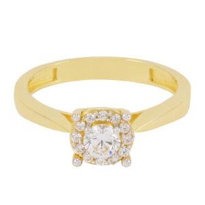 bague de fiançailles bella en or jaune