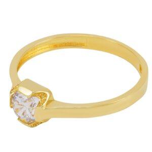 bague fiançailles Ashley en or jaune
